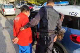 Detenido por maltratar a su pareja y retener a dos menores en Palma