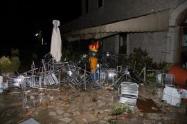 Tres heridos en el Santuari de Lluc a causa de un 'cap de fibló' de 148 km/h