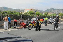 Fallece una turista británica tras ser atropellada por una motocicleta en Andratx