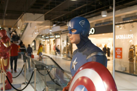 Llega la exposición 'Superhéroes' a Porto Pi Centro