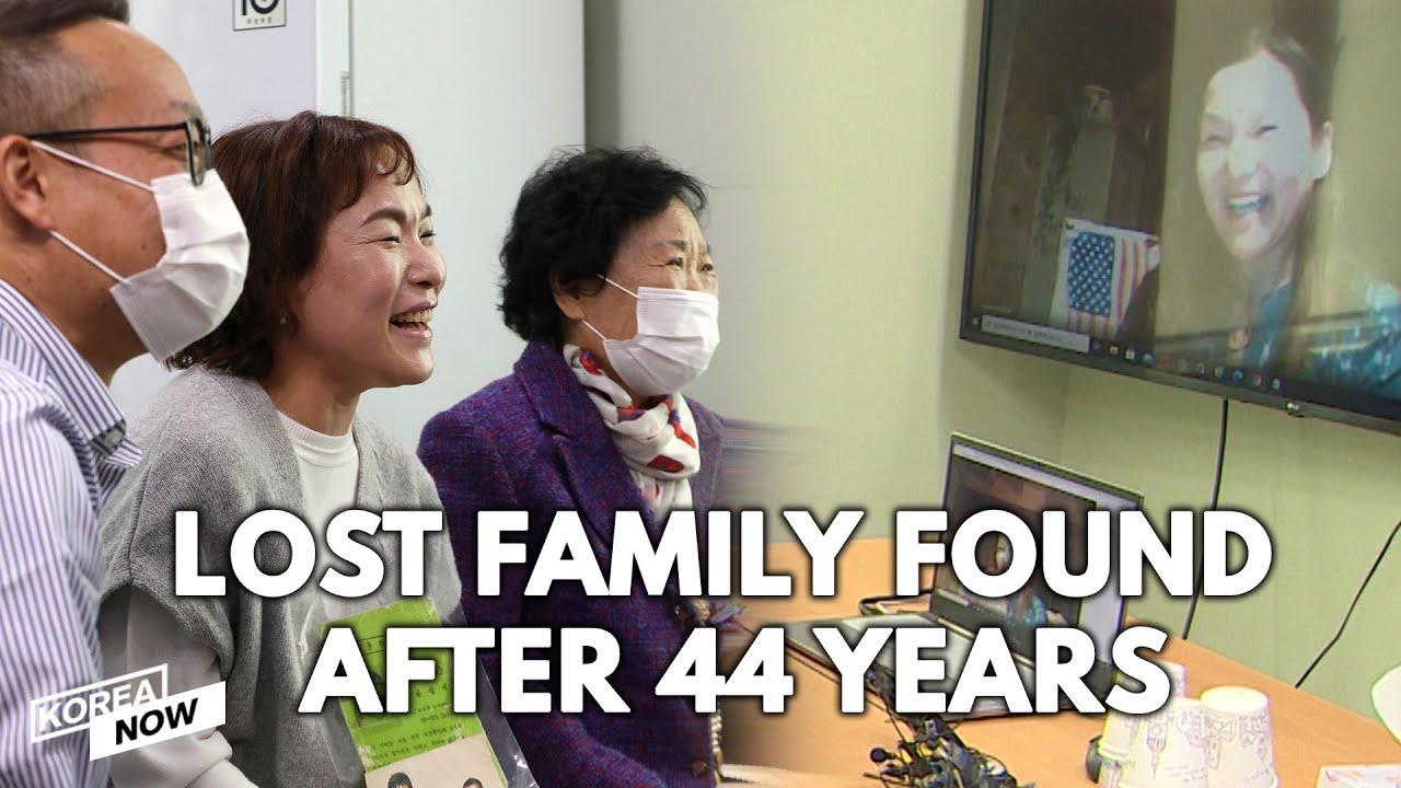 Una mujer, que se perdió cuando era pequeña en un mercado, se reencuentra con su familia