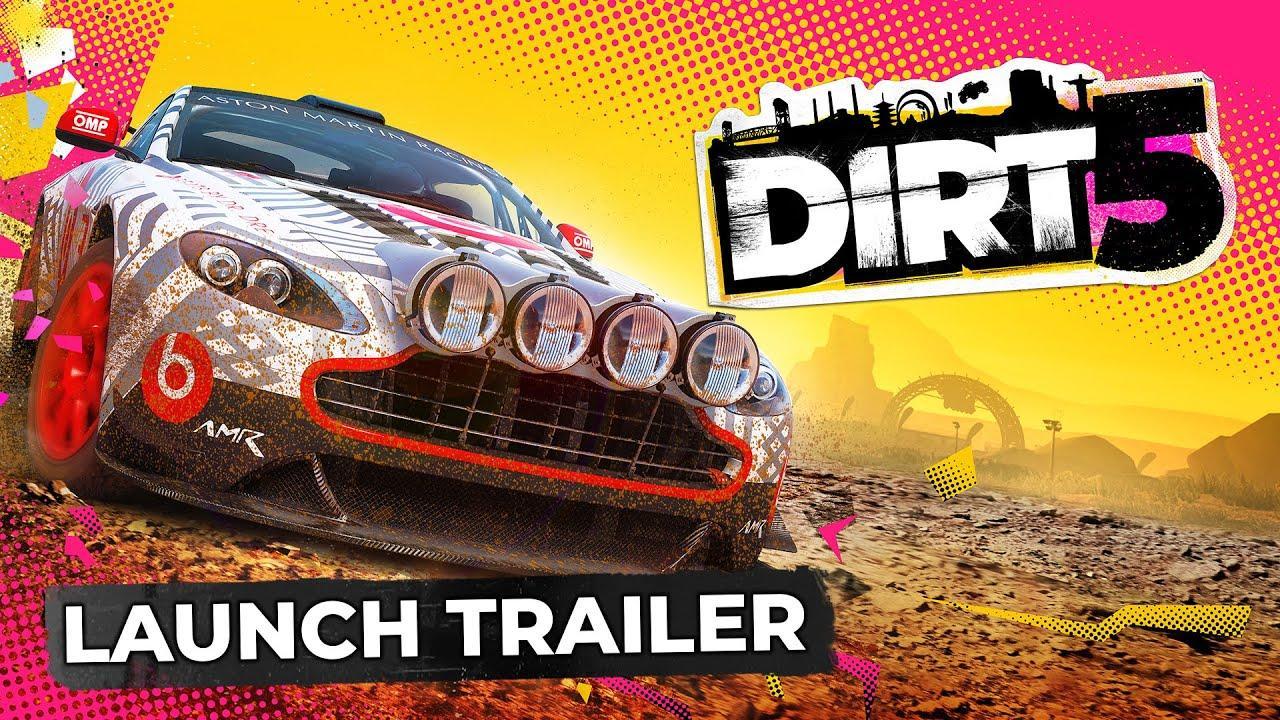 DIRT 5, ya disponible la Banda Sonora Oficial y nuevo trailer