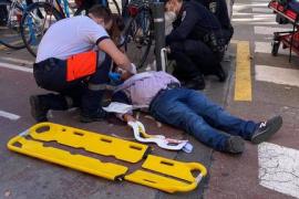 Imagen del atropello en Palma