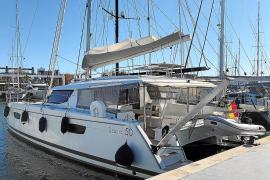 Detenido un hombre en Palma por robar un catamarán de un millón de euros en Italia