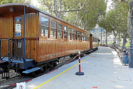 El tren de Sóller suspende su servicio el próximo lunes