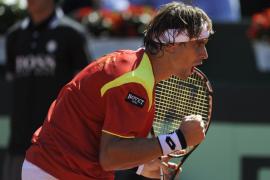 David Ferrer vence a Querrey y adelanta al equipo español en la Davis