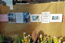 Cuelgan carteles en Llucmajor con la foto de un ladrón que destrozó un local