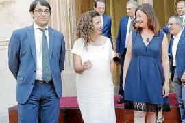 Armengol prepara una reordenación del Govern sin tocar a los consellers