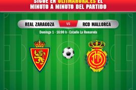 DIRECTO | Real Zaragoza-Real Mallorca