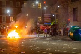 Disturbios, detenciones y protestas contra el confinamiento en varias ciudades