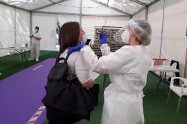 Descienden los contagios de coronavirus en Baleares