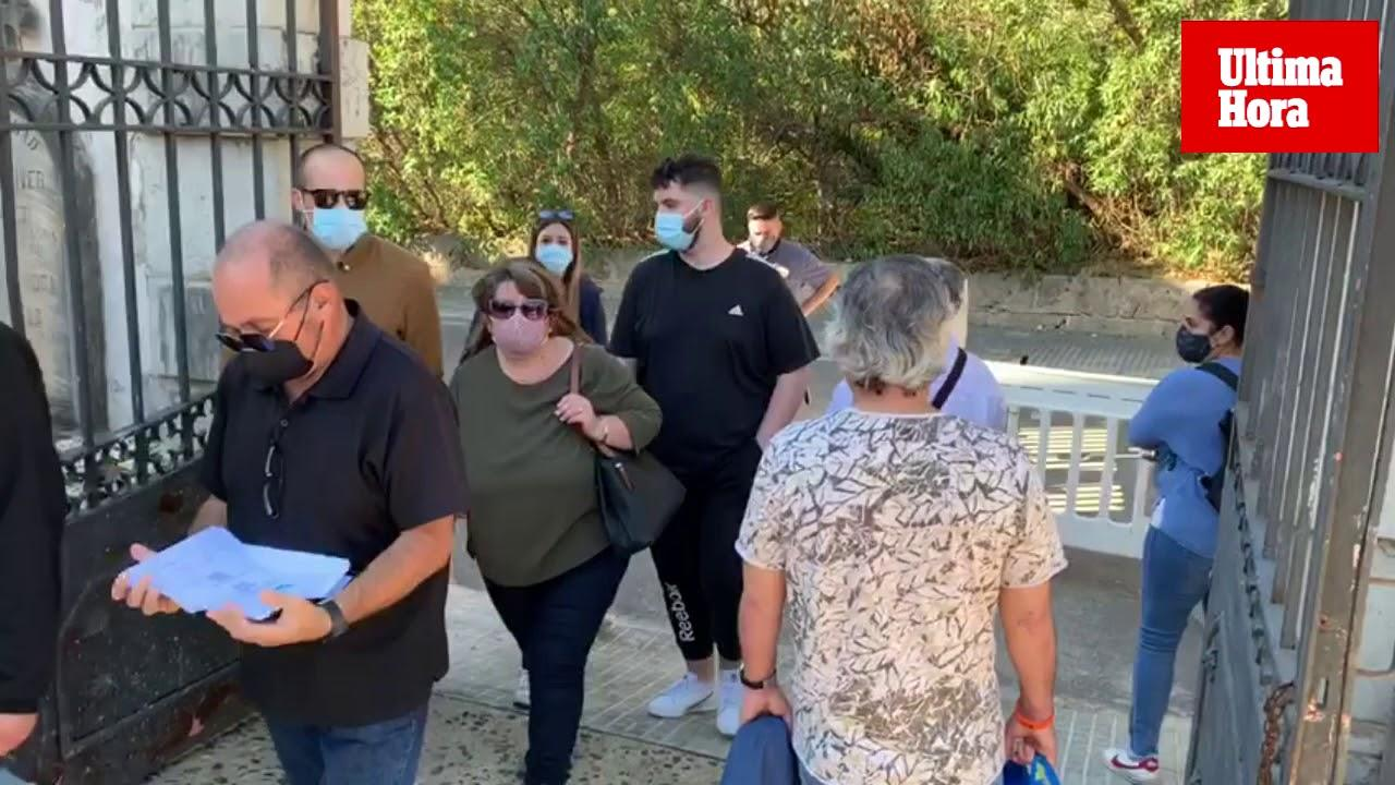 La COVID obliga a un Tots Sants atípico en el cementerio de Palma