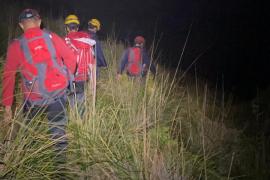 Los bomberos rescatan a una pareja en el Puig de Galatzó