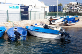 La nueva ola de pateras llegadas a Ibiza, en imágenes. (Fotos: Daniel Espinosa)