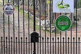 Denuncian el cierre del acceso al camino público de Planícia, en Banyalbufar