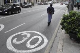 La DGT agradece a Cort la limitación del tráfico a 30 kilómetros por hora
