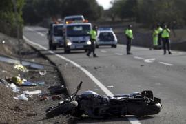 Un hombre muere en un accidente de moto en la carretera Sant Llorenç-Artà