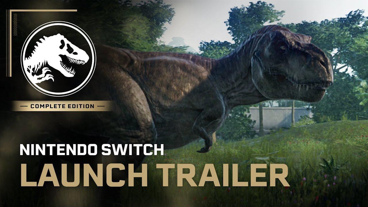 'Jurassic World Evolution', ya en Nintendo Switch