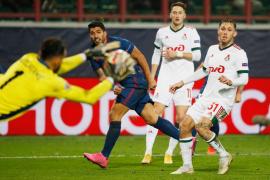 El Atlético se deja dos puntos en Moscú