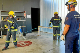 Catorce bomberos de Palma confinados y un parque cerrado por coronavirus