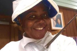 Fallece Taymi Chappé, campeona del mundo de esgrima en 1990