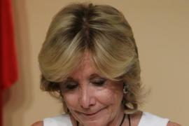 Esperanza Aguirre trabajará en Turespaña