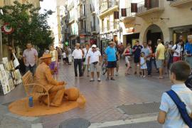Los peatones de la calle Sant Miquel, en Palma, superan en septiembre los registros pre-COVID