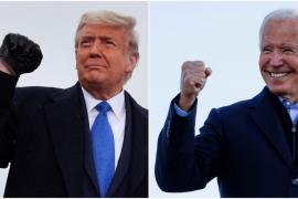 Biden y Trump mantienen las opciones de victoria con el resultado de estados clave aún sin determinar