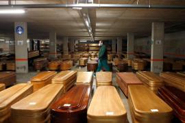 La OMS prevé que unas 8.000 personas mueran de COVID en España antes de Navidad