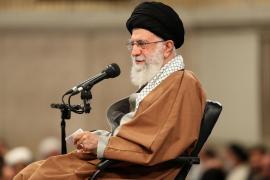 TEHERAN. POLITICA. El ayatolá Alí Jameneí, LÍDER ESPIRITUAL IRANI.