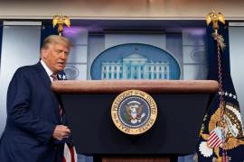 Trump afirma que si se cuentan los «voto legales» sería el ganador de las elecciones