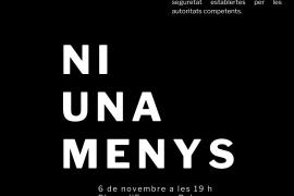 Convocan una concentración en Palma para condenar el asesinato machista ocurrido en el Secar de la Real