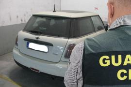 Tres detenidos por la sustracción de cuatro vehículos en Selva, Inca y Palma