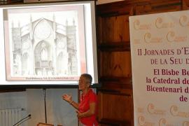 Tres dibujos inéditos de la Seu encargados por Jovellanos se muestran en Palma