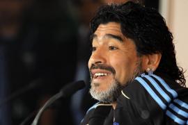 Maradona será padre nuevamente a los 51 años