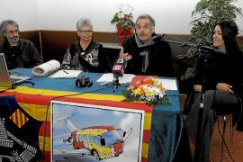 """MENORCA - PRESENTACION DE LA NUEVA PLATAFORMA """"EL TRANSPORT AERI OFEGA MENORCA"""" EN ES CASTELL."""