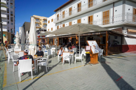 Sant Antoni vuelve a facilitar la ampliación de terrazas de bares y restaurantes