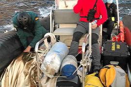 El joven fue estabilizado y evacuado por mar por el operativo de rescate