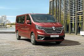 Renault desvela la nueva gama Trafic para transporte de personas