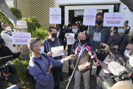 Protesta en Palma de los empresarios del ocio nocturno
