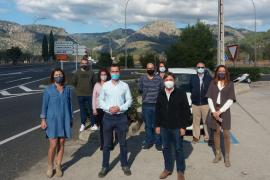 El PP exige una solución para los accidentes en la carretera Palmanyola-s'Esgleieta