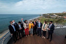 Maroto vende Canarias como «el único destino seguro» para el turista europeo