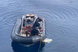 Investigan si un cadáver hallado en aguas de Castellón es de uno de los pilotos del bimotor desaparecido