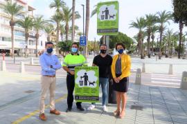 Sant Antoni lanza una campaña de concienciación sobre la recogida de excrementos de los perros