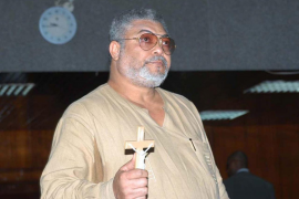 Fallece el expresidente de Ghana Jerry Rawlings