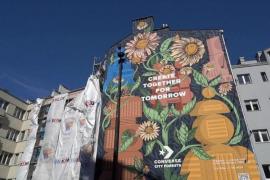 Los murales que eliminan la contaminación gracias a su pintura