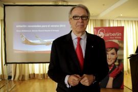 Álvaro Middelmann dejará  en 2013 la dirección general de Air Berlín