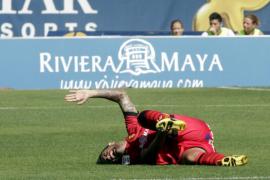 Javi Márquez sufre una fractura en el tobillo izquierdo