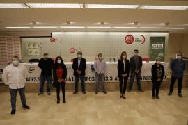 Sindicatos de la función pública en Baleares