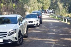 Intensifican los controles en las carreteras de la Serra para evitar la saturación los fines de semana